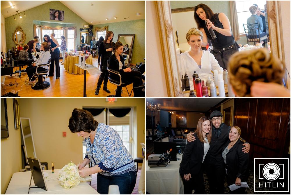 Great group of Pros: The ladies of Changes Salon, Pesha, Leslie, Fernando, and Meg