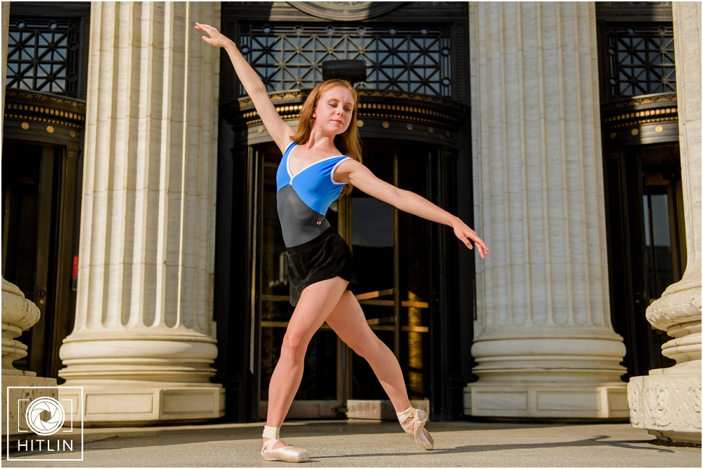 Audrey's Dance Portfolio Shoot