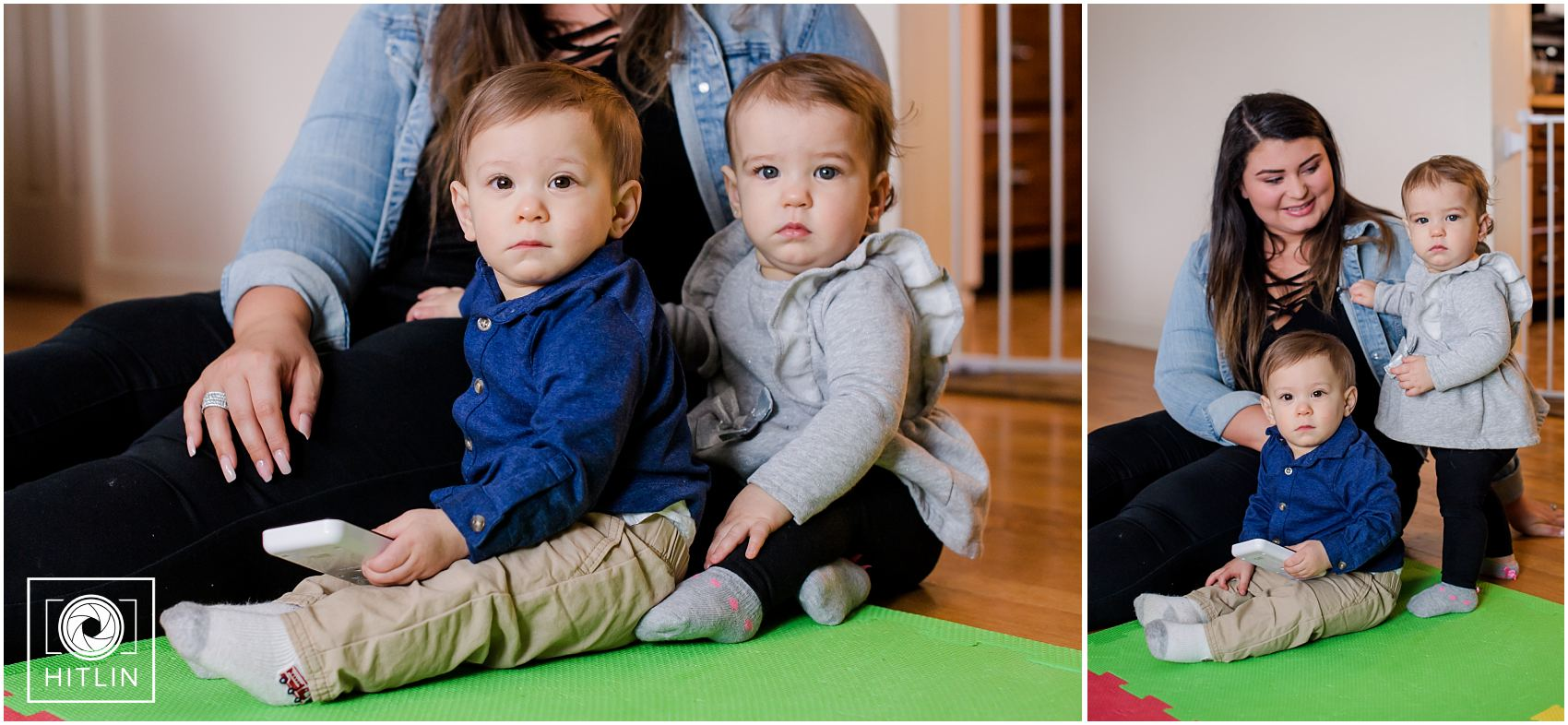 The Bryans' Twins turn 1