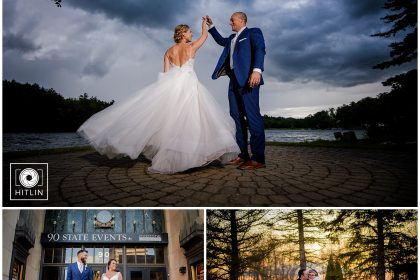 Winner of 2019 Hitlin Photography Inc. Wedding Couple of the Year