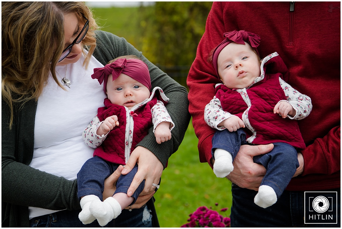 The Noonan Family Twin Session