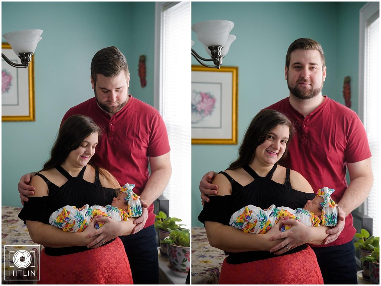 The Persico Family Newborn Session