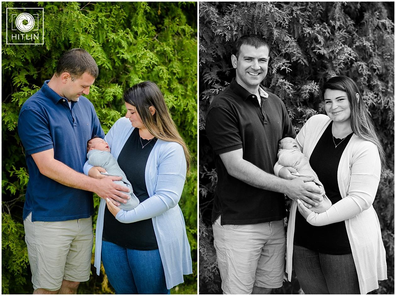 The Bryans' Family Newborn #3 Session