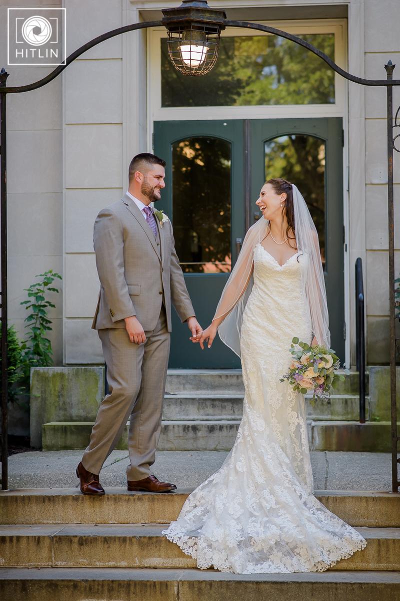 Browns Revolution Hall wedding photo 1