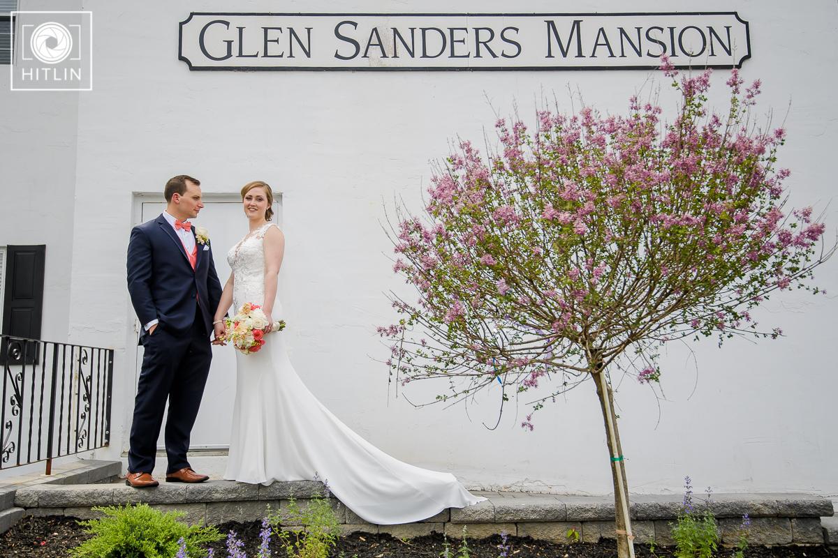 Glen Sanders Mansion Wedding Photo