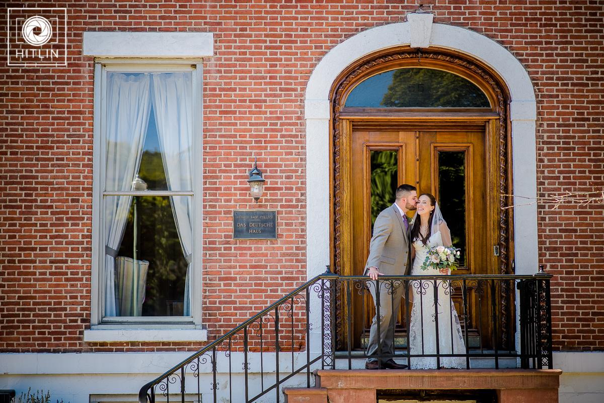 Browns Revolution Hall wedding photo 2
