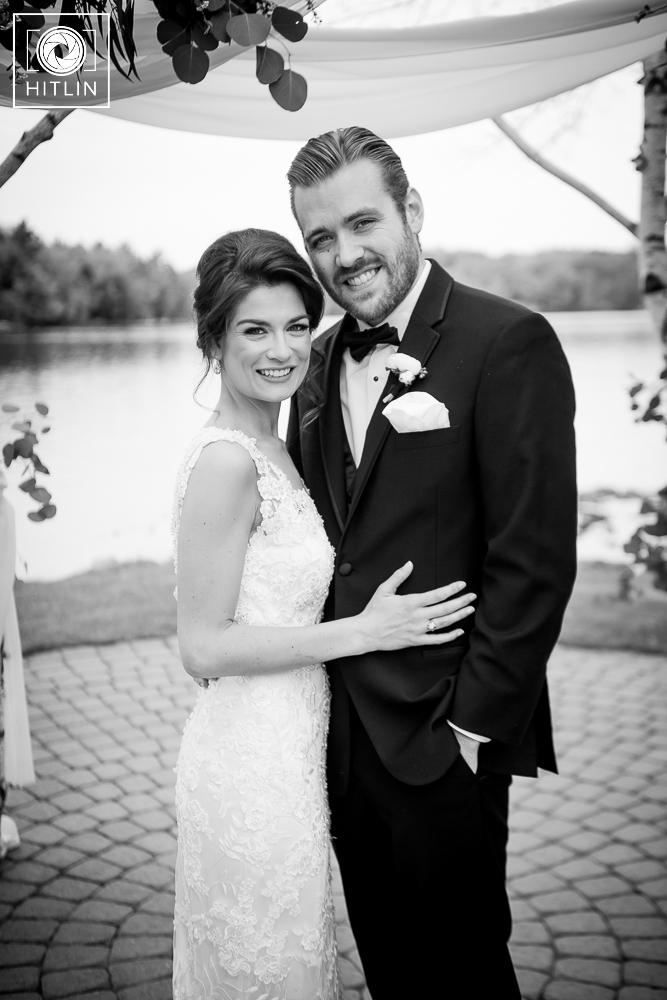 old daley on crooked lake wedding photo