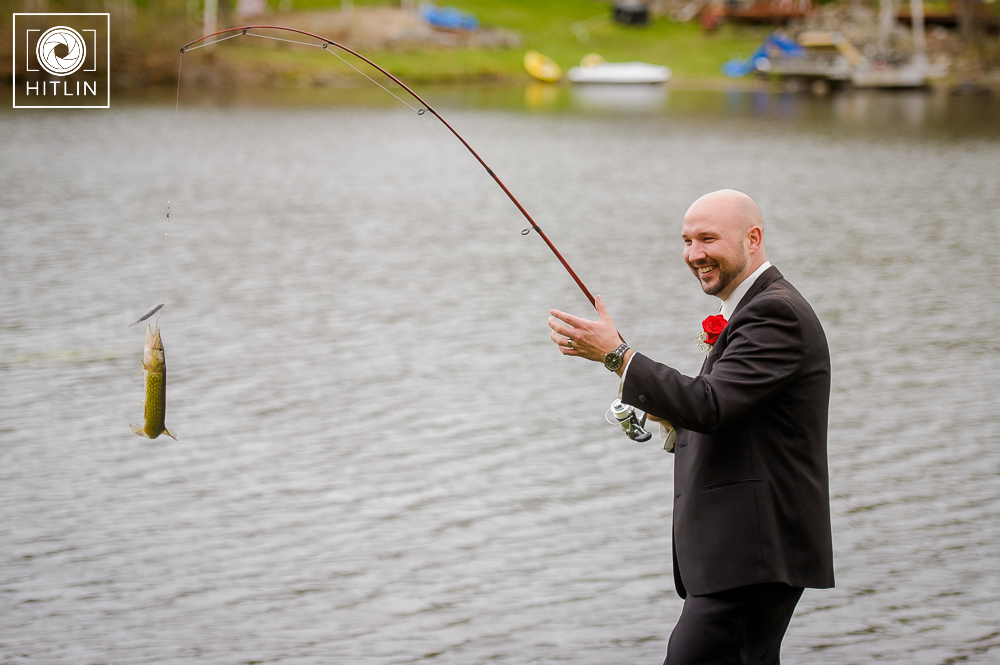 Old Daley on Crooked Lake Wedding Photo