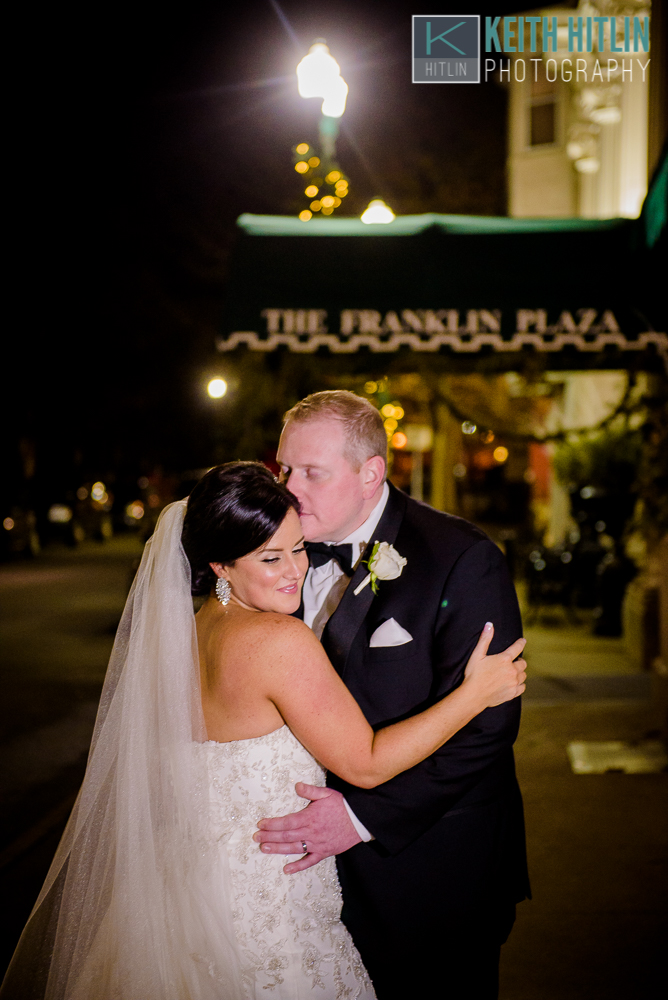Franklin Plaza wedding photo