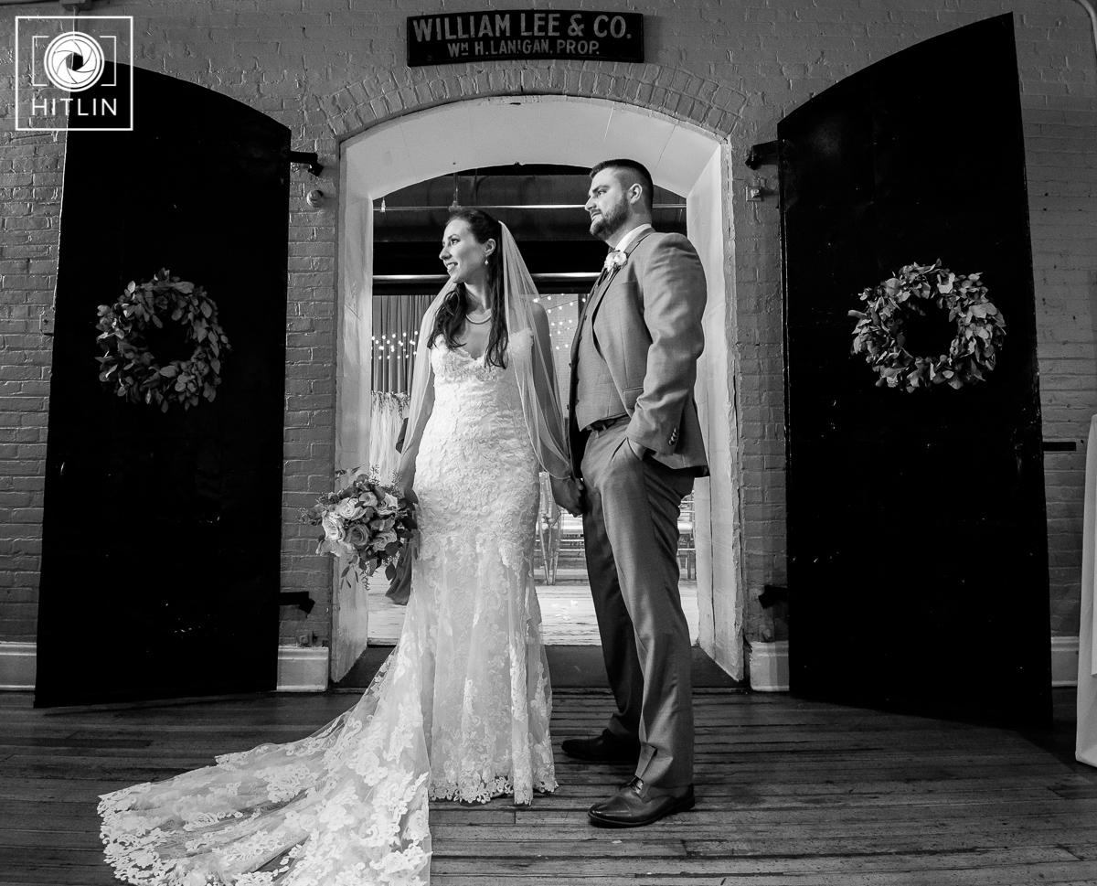 Browns Revolution Hall wedding photo 9