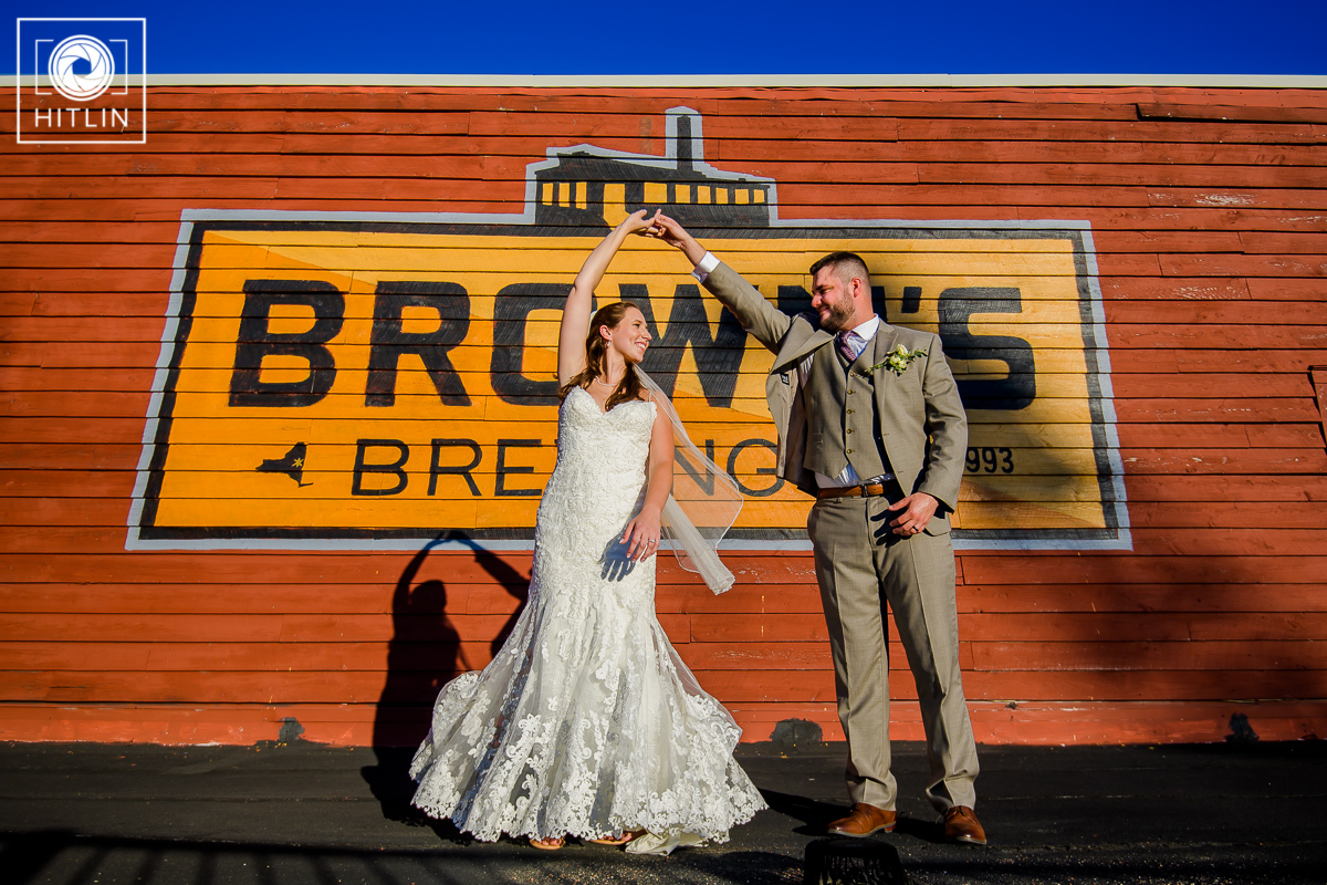 Browns Revolution Hall wedding photo 10