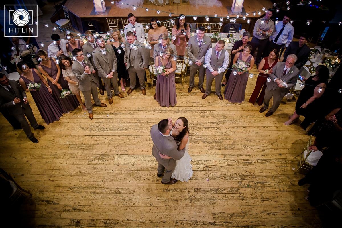 Browns Revolution Hall wedding photo 11