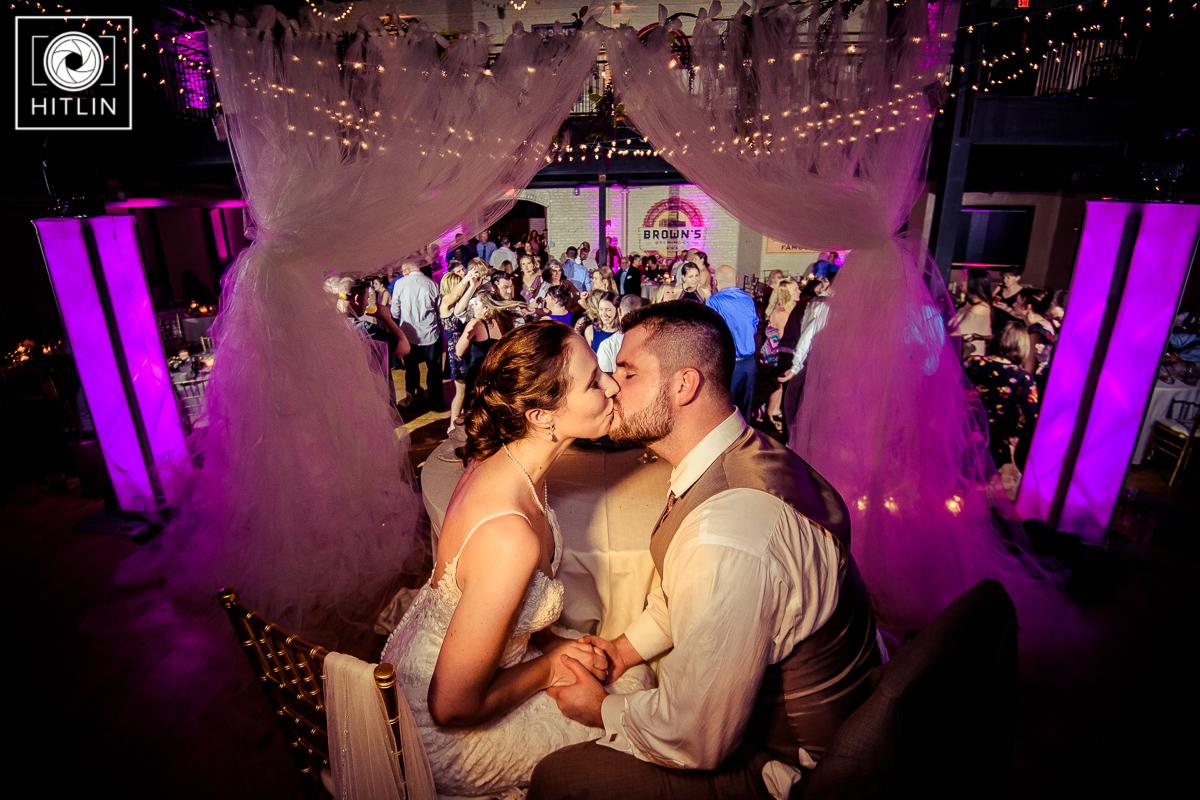 Browns Revolution Hall wedding photo 12